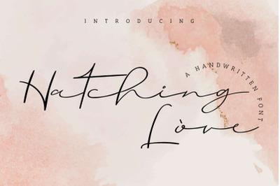 hatching love