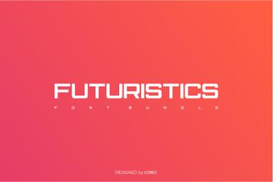 Futuristics Font Bundle