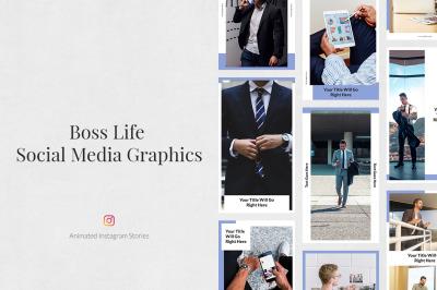 Boss Life Animated instagram Stories
