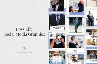 Boss Life Instagram Posts