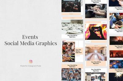 Events Instagram Posts