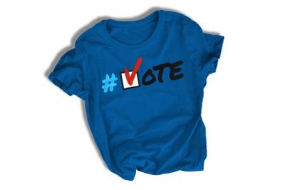 Vote | Applique Embroidery