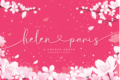 Helen Paris - Lovely Font