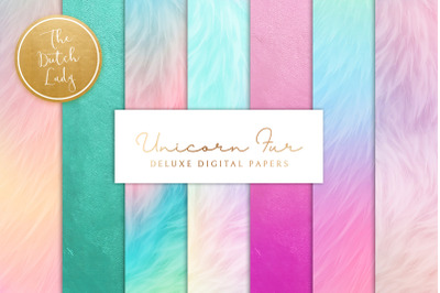 Unicorn Fur Texture Backgrounds