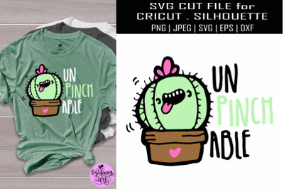 Unpinchable svg, st paricks day svg cactus svg