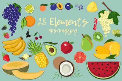 Fruit Elements