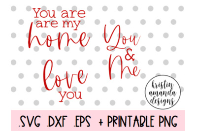 Love Sayings Bundle Valentine's Day SVG DXF EPS PNG Cut File  Cricut