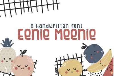 Eenie Meenie Handwritten Font
