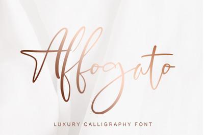 Affogato Luxury Calligraphy