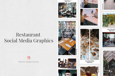 Restaurant Instagram Stories