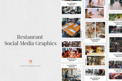 Restaurant Instagram Posts