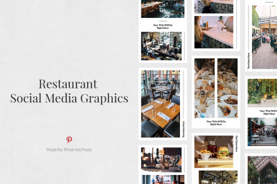 Restaurant Pinterest Posts