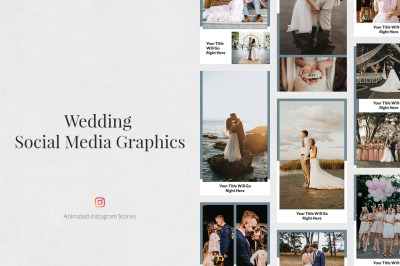Wedding Animated Instagram Stories