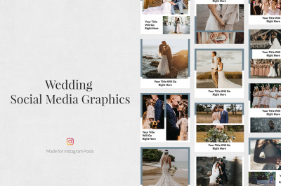 Wedding Instagram Posts