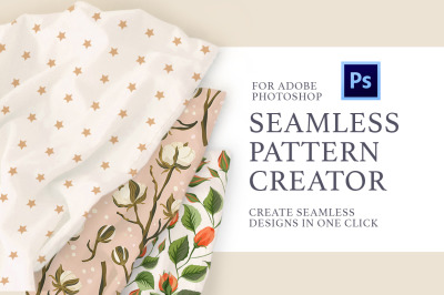 Photoshop Seamless Pattern Creator.