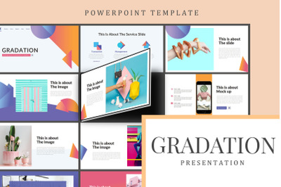 Gradation - Elegant Beautiful Powerpoint Template