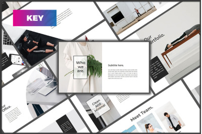 Lunox Beautiful Creative Minimal Keynote Template