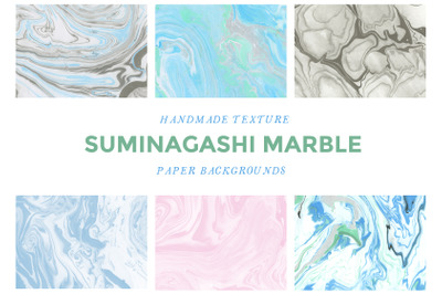 Suminagashi Marbled Papers