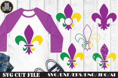 Fleur de lis SVG Cut File
