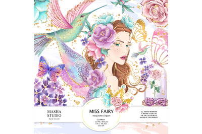 Miss Fairy Clipart