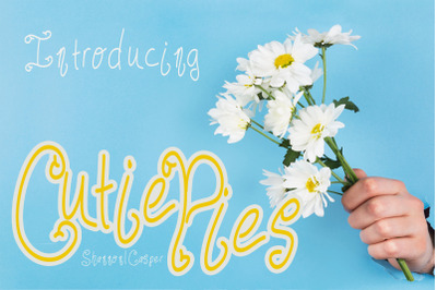 Cutie Pies Handwritten Font