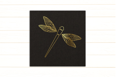 Dragonfly Single Line Sketch for Pens | SVG | PNG | DXF