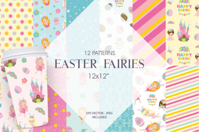Easter Fairies Papers