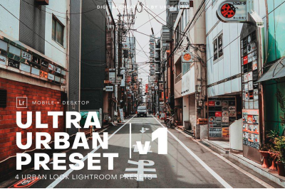 Ultra Urban Lightroom Preset Pack v1