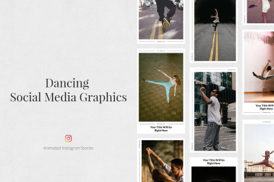 Dancing Animated Instagram Stories