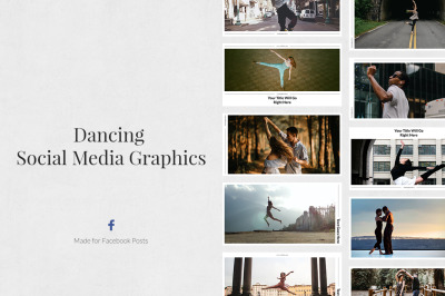 Dancing Facebook Posts