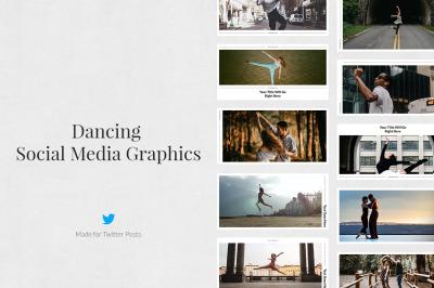 Dancing Twitter Posts