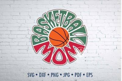 Basketball mom Word Art design, svg, dxf, png, jpg