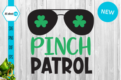 Pinch Patrol Svg, St Patricks Svg
