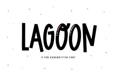 Lagoon - Quirky Handwritten Font