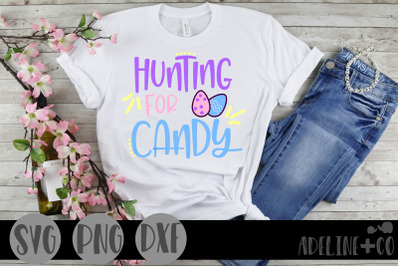 Hunting for candy SVG, PNG, DXF, Easter