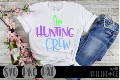 Hunting crew SVG, PNG, DXF, Easter