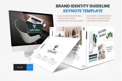 Brand Identity Guideline Keynote Template
