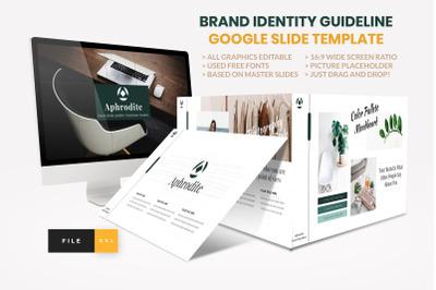 Brand Identity Guideline Google Slide Template
