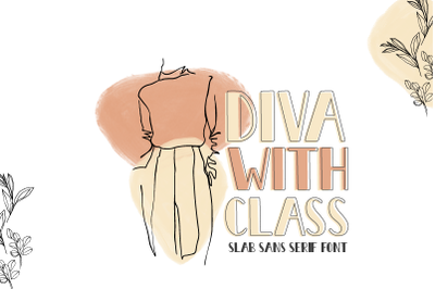 Diva With Class Bold Font | LoveSVG