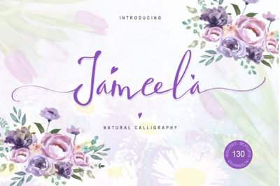 Jameela Script Signature Font