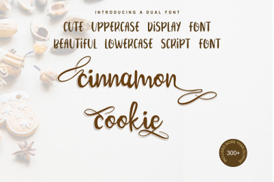 Cinnamon Cookie  Two Style Font