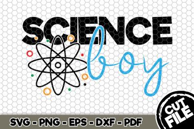 Science Boy SVG Cut File n141