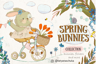 Spring bunnies (collection)