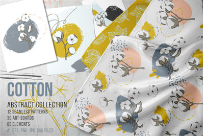 Cotton Abstract collection