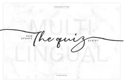 The Quiz Script