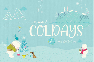 Coldays Fonts Collections