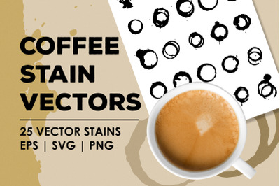 Coffee Stain Vectors