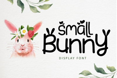 Small Bunny - Easter Font