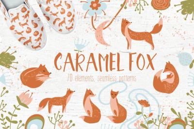 Caramel fox