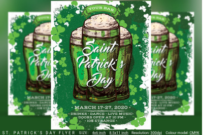 St. Patrick's Day Flyer And Poster